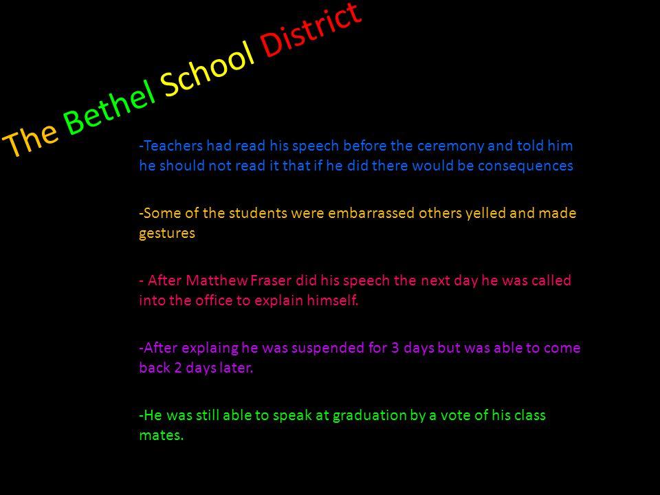 The Bethel School District
