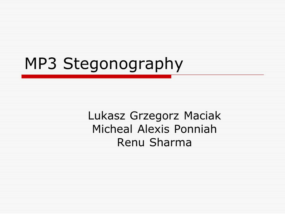 Lukasz Grzegorz Maciak Micheal Alexis Ponniah Renu Sharma