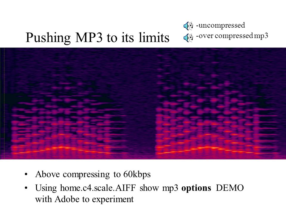 Pushing MP3 to its limits