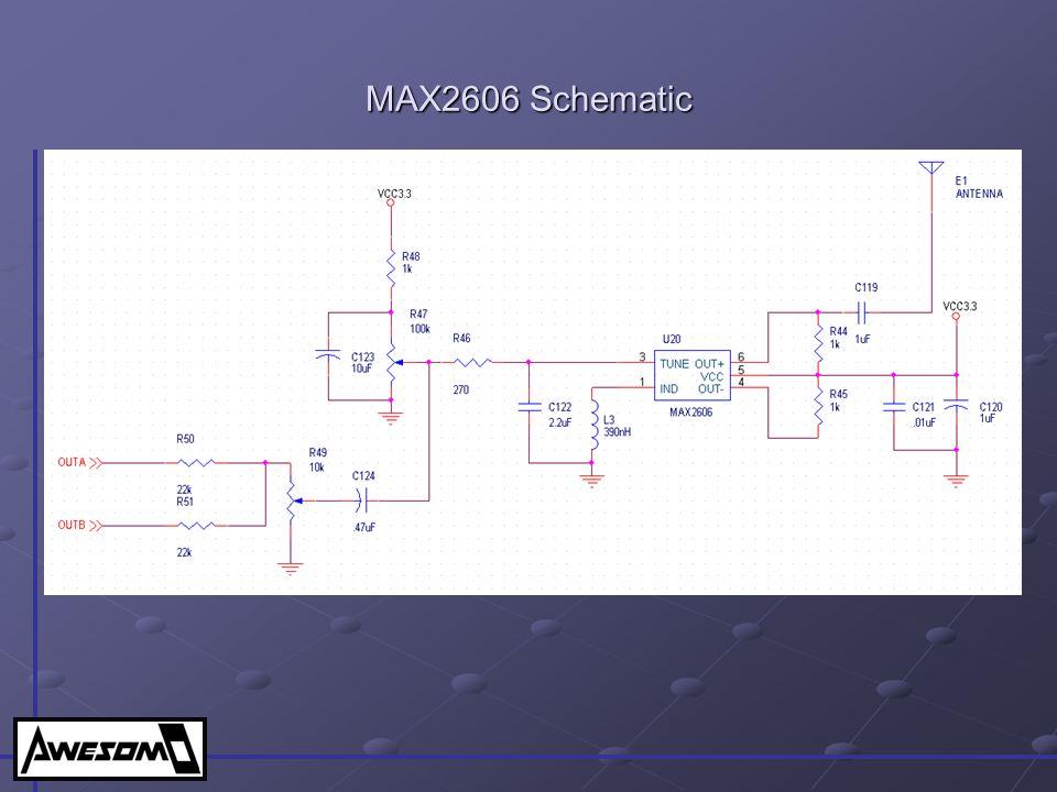 MAX2606 Schematic