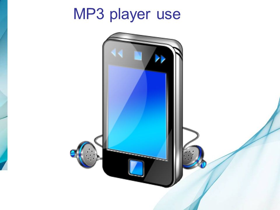 MP3 player use