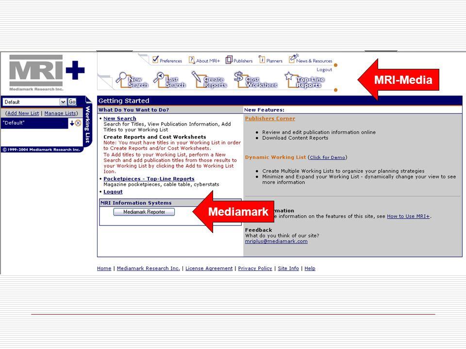 MRI-Media Mediamark