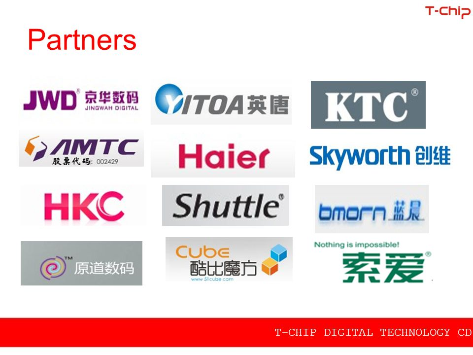 Partners T-CHIP DIGITAL TECHNOLOGY CD.,LTD
