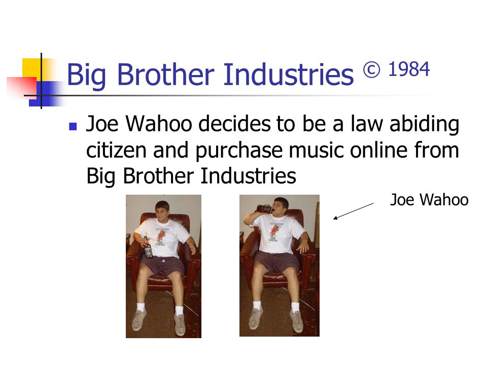 Big Brother Industries © 1984