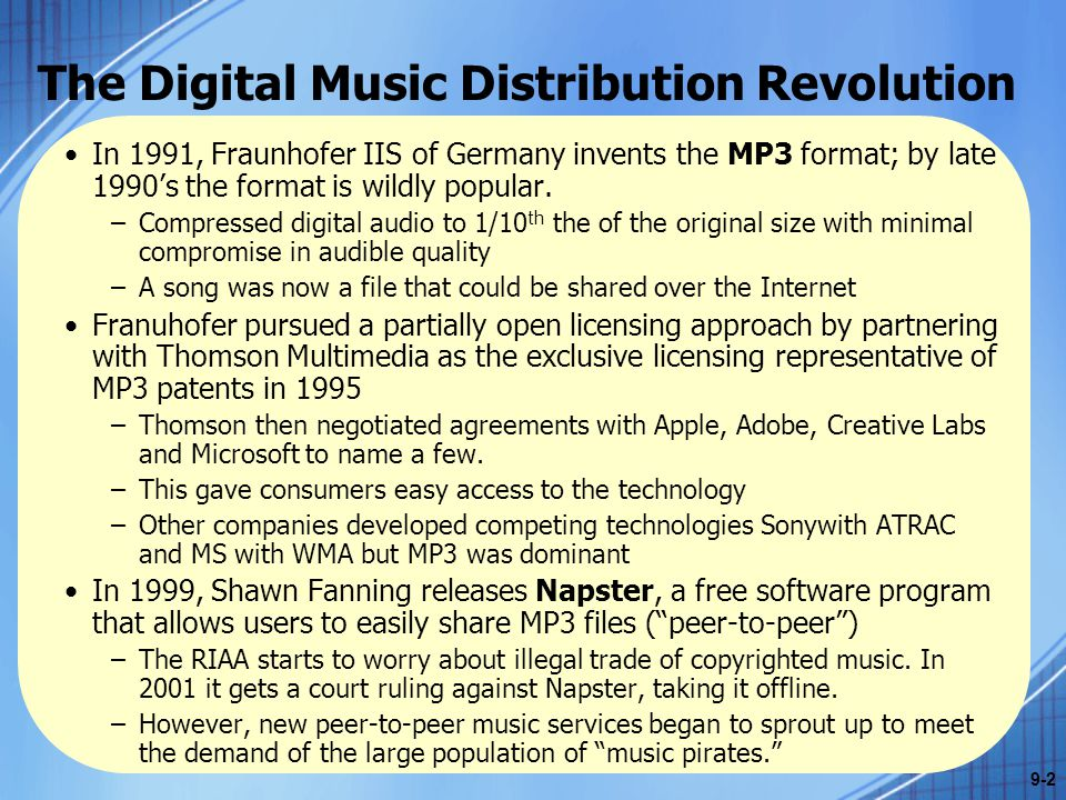 The Digital Music Distribution Revolution