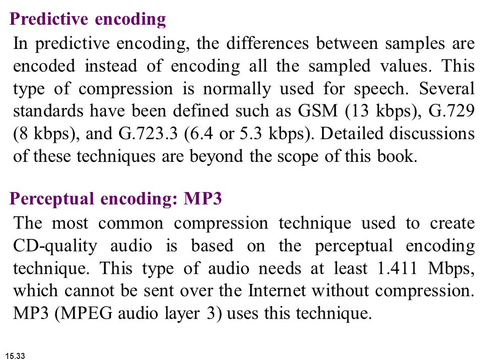 types of data compression techniques pdf