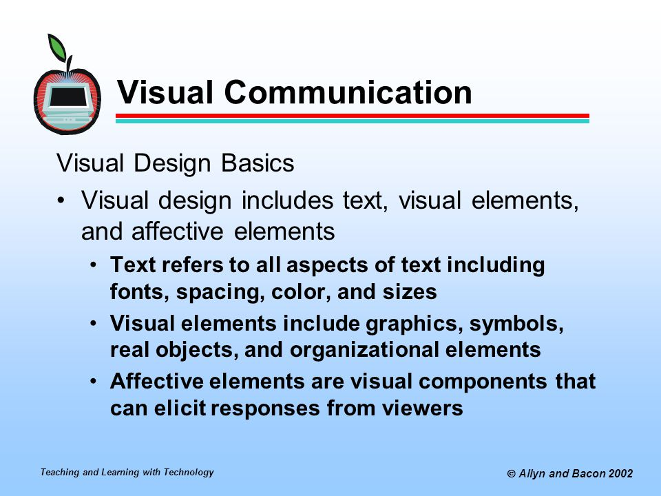 Visual Communication Visual Design Basics