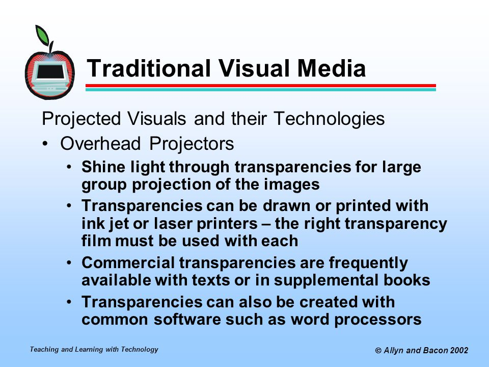 Traditional Visual Media