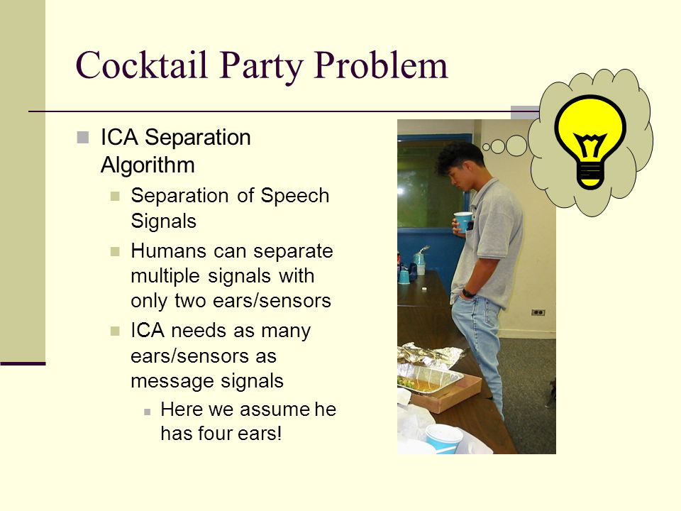 Cocktail Party Problem