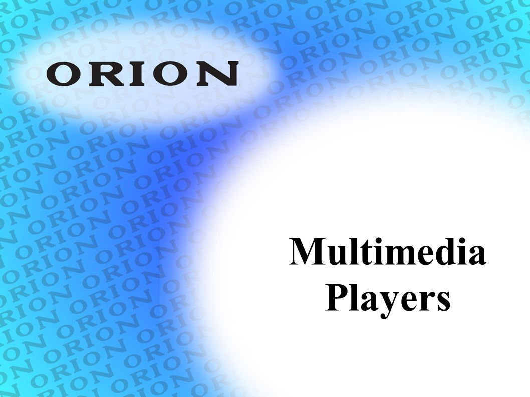 Multimedia Players