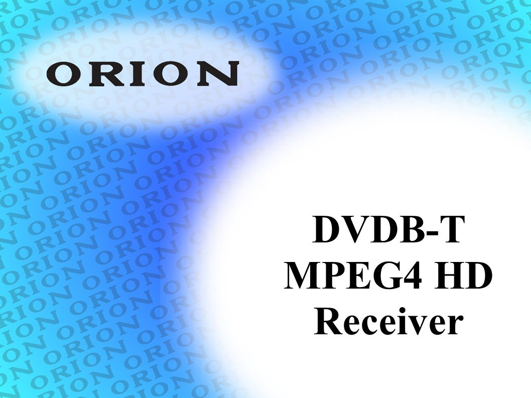 DVDB-T MPEG4 HD Receiver