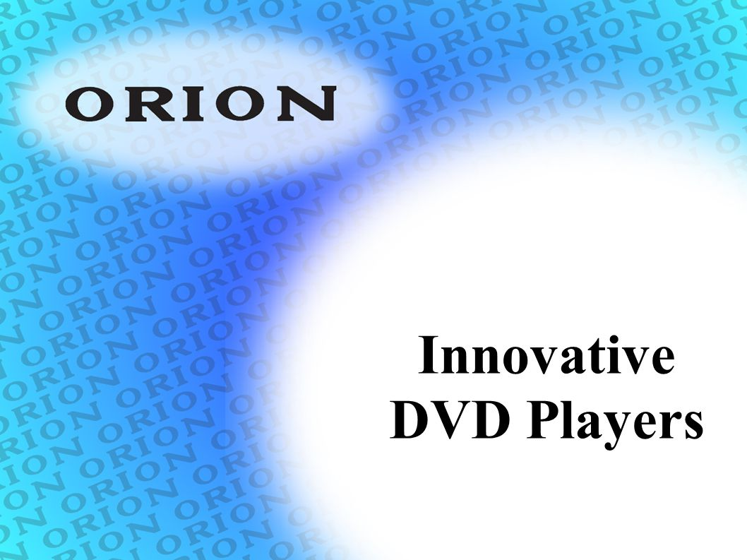 Innovative DVD Players