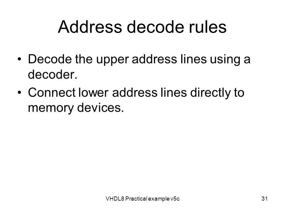 VHDL8 Practical example v5c