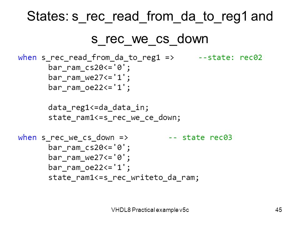 States: s_rec_read_from_da_to_reg1 and s_rec_we_cs_down