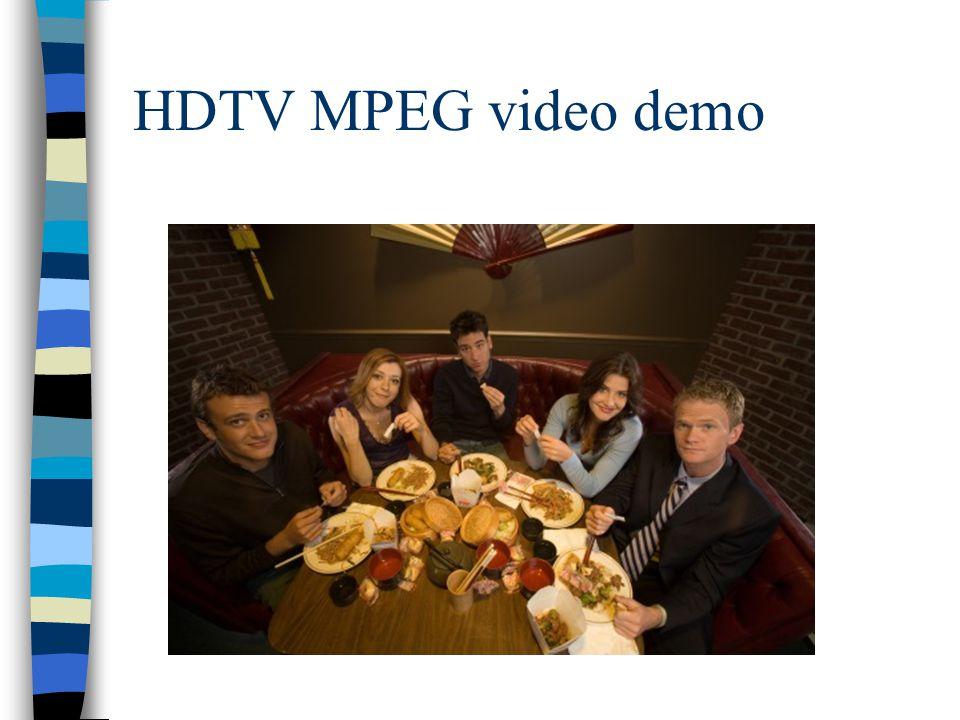 HDTV MPEG video demo