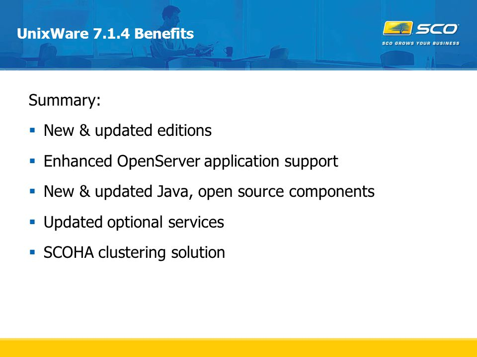 Enhanced OpenServer application support