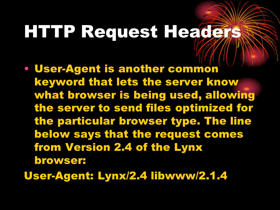HTTP Request Headers