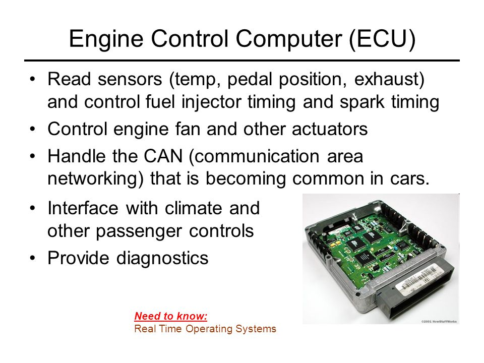 Engine Control Computer (ECU)
