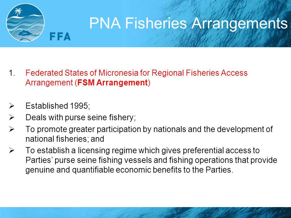PNA Fisheries Arrangements