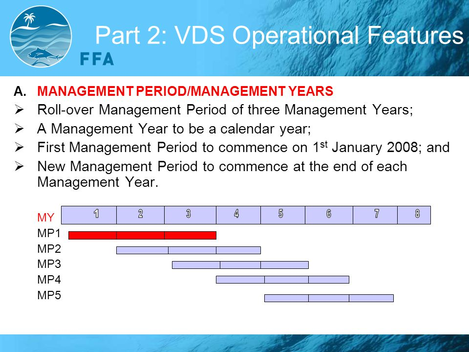 Part 2: VDS Operational Features