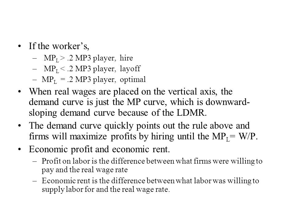 Economic profit and economic rent.