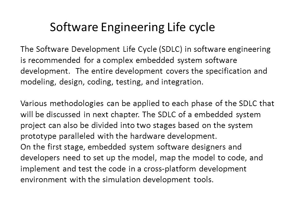 Software Engineering Life cycle