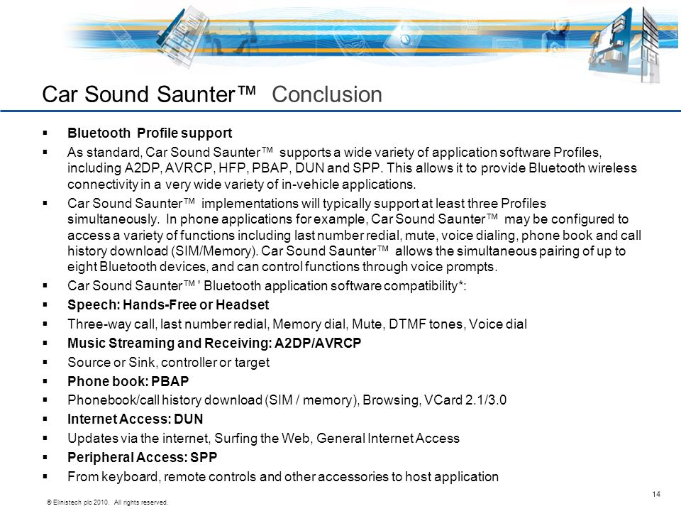 Car Sound Saunter™ Conclusion