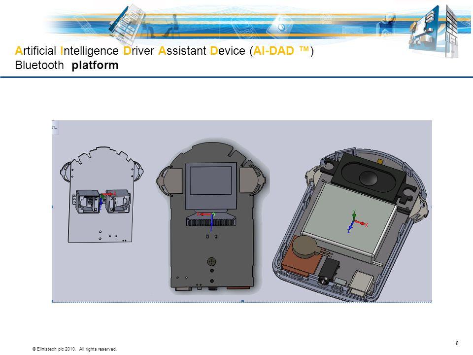 Artificial Intelligence Driver Assistant Device (AI-DAD ™) Bluetooth platform