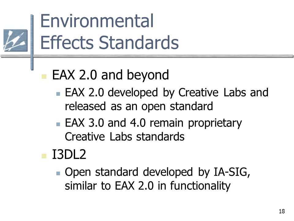 Environmental Effects Standards