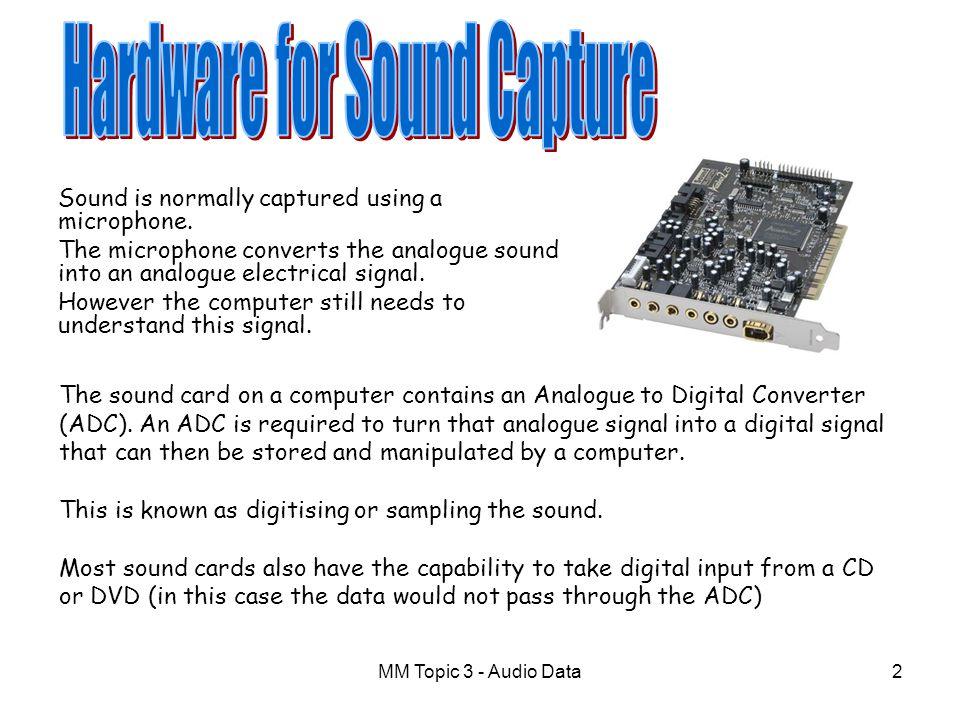 Hardware for Sound Capture