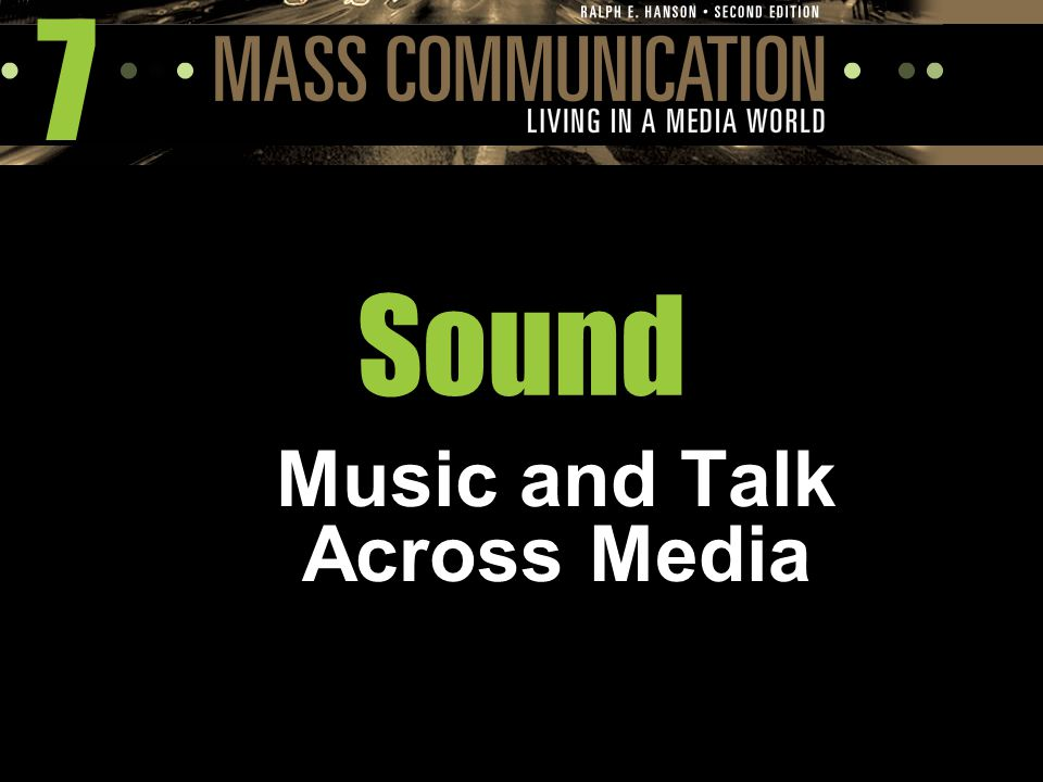 Music and Talk Across Media