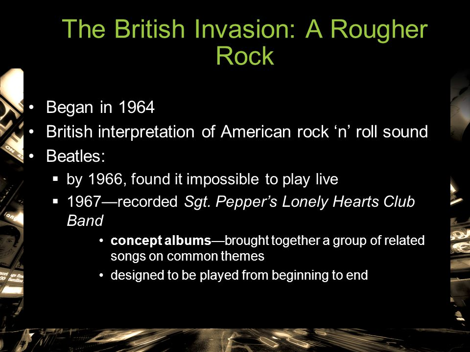 The British Invasion: A Rougher Rock