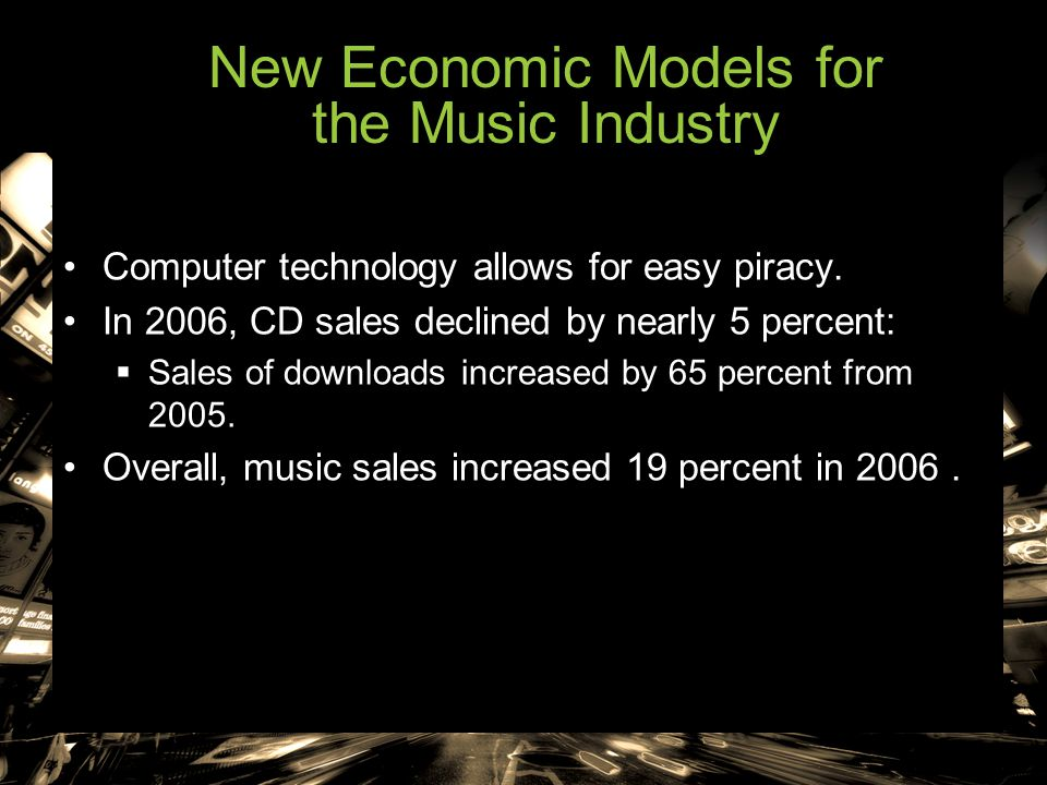 New Economic Models for the Music Industry