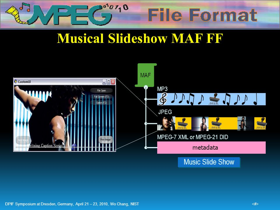 Musical Slideshow MAF FF