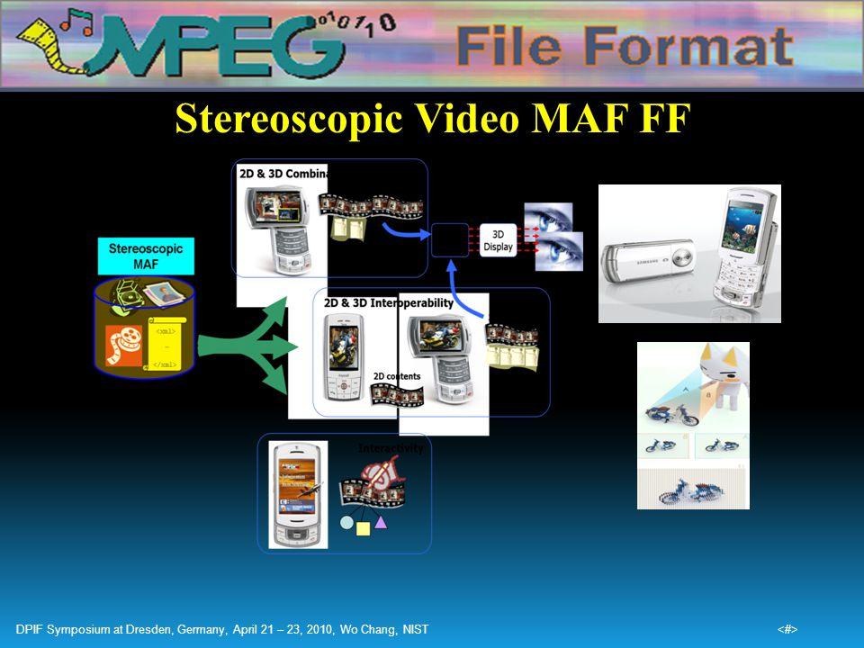 Stereoscopic Video MAF FF