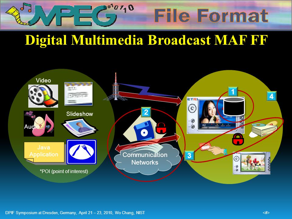 Digital Multimedia Broadcast MAF FF