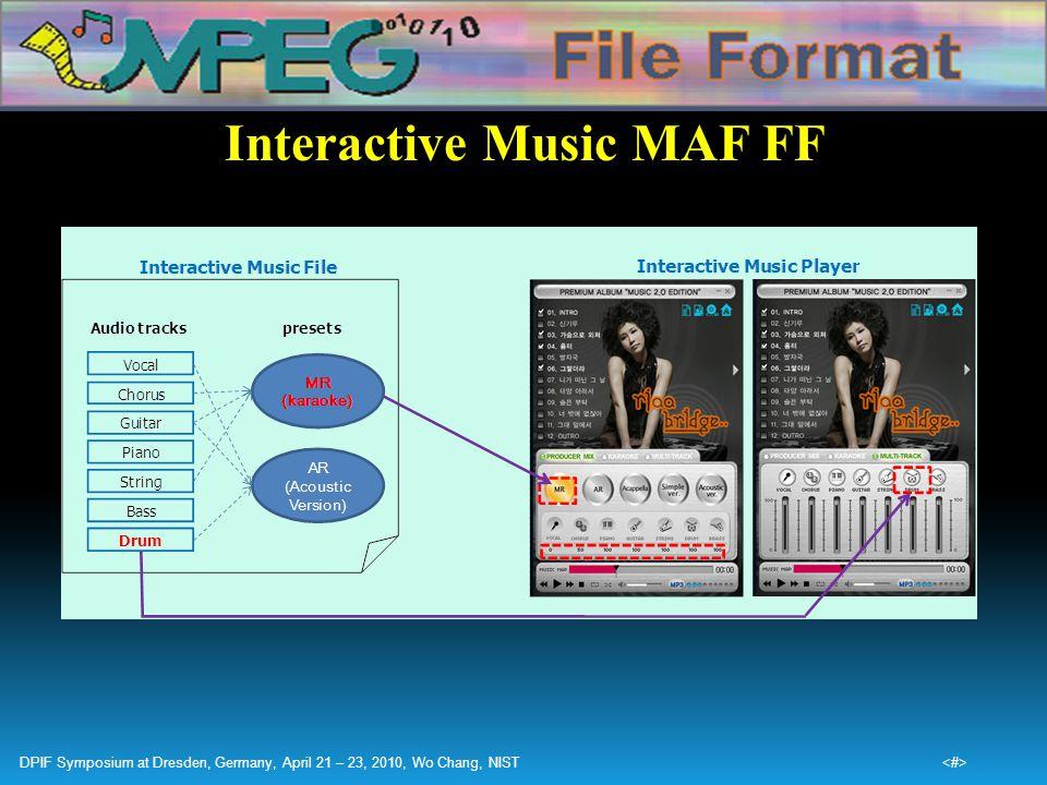 Interactive Music MAF FF