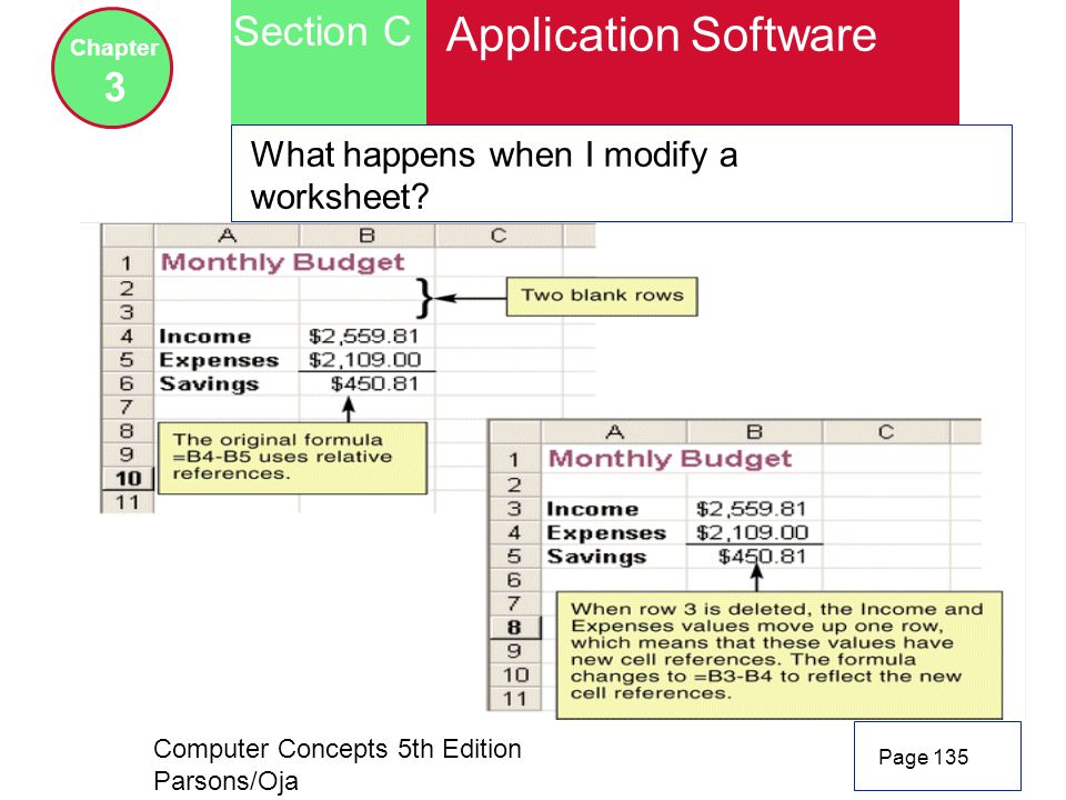 Application Software Section C 3