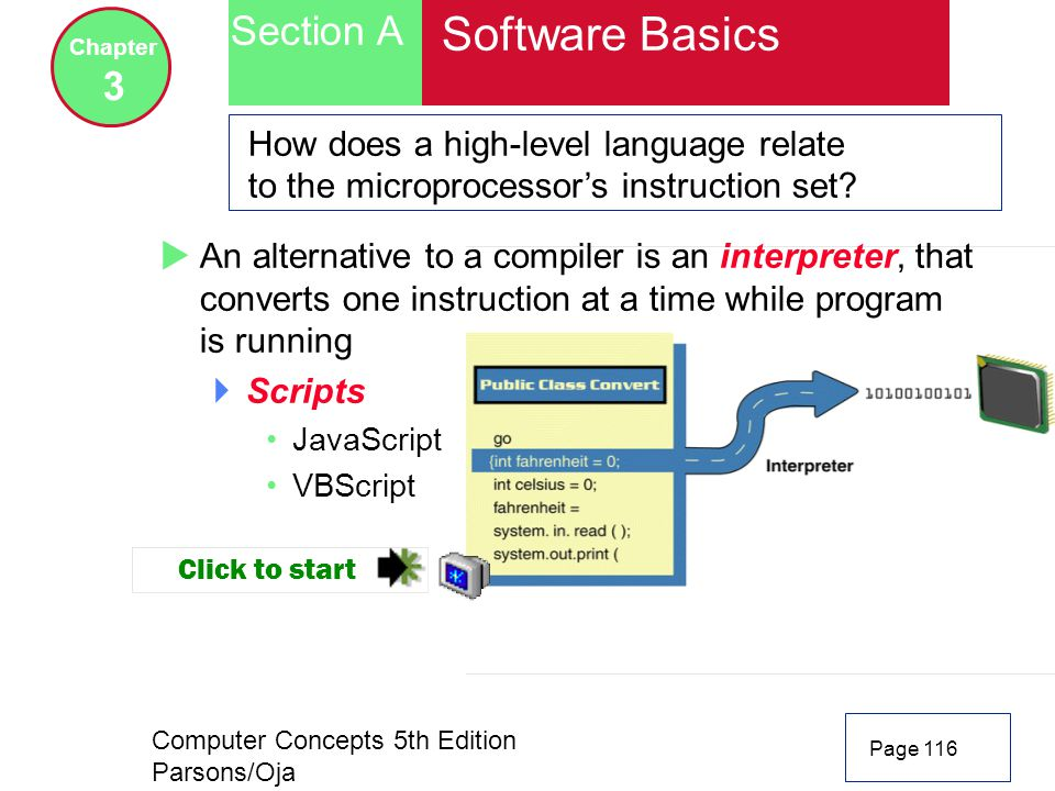 Software Basics Section A 3