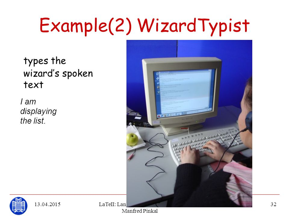 Example(2) WizardTypist