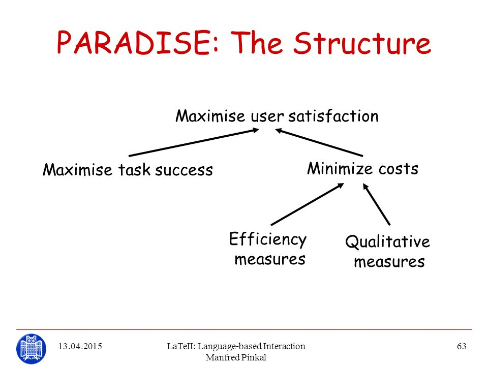 PARADISE: The Structure