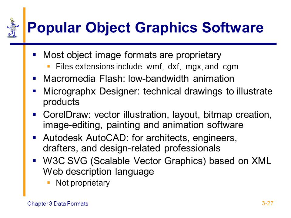 Popular Object Graphics Software