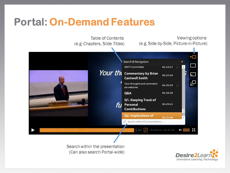 Portal: On-Demand Features