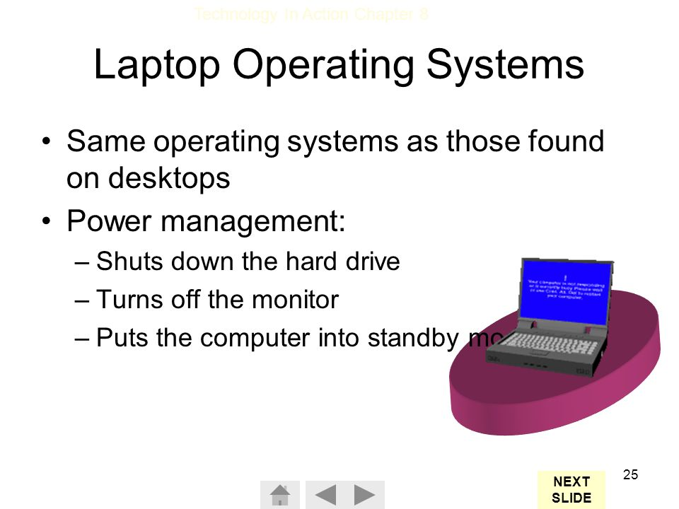 Laptop Operating Systems