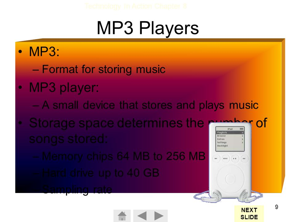 MP3 Players MP3: MP3 player: