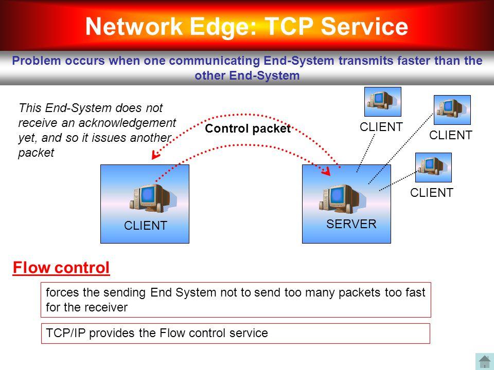 Network Edge: TCP Service