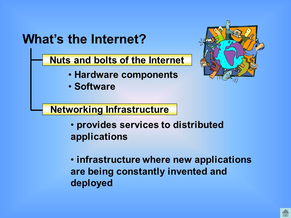 Nuts and bolts of the Internet Networking Infrastructure