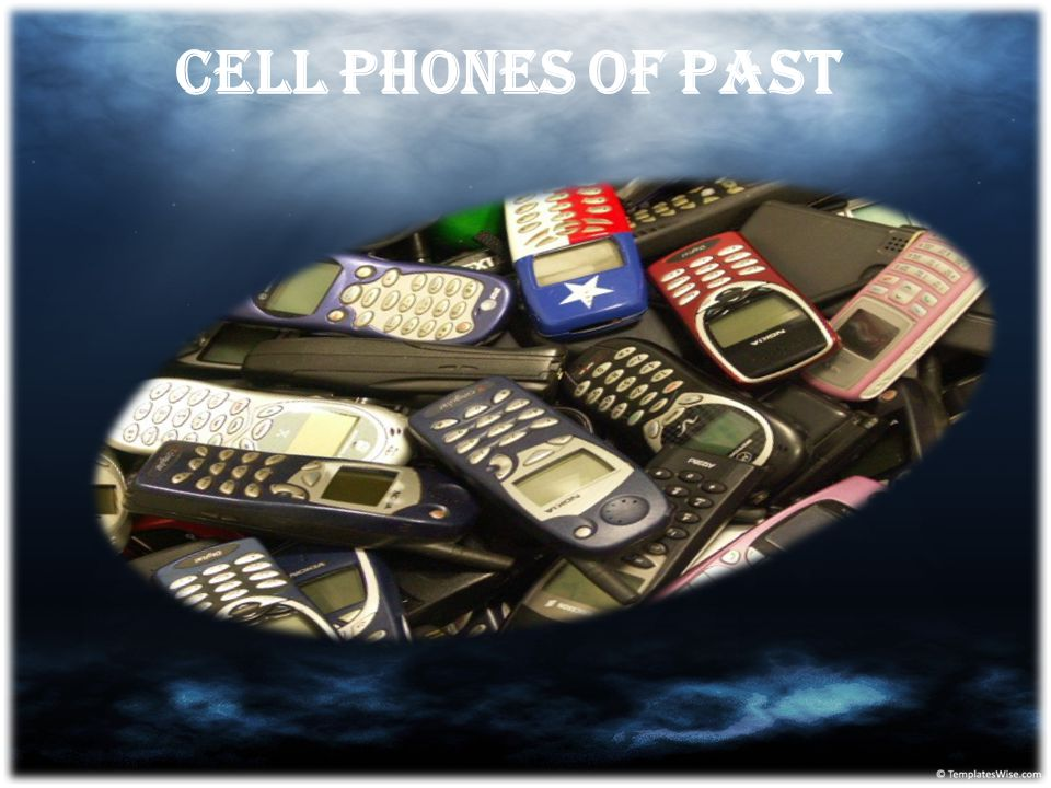 Cell Phones of past