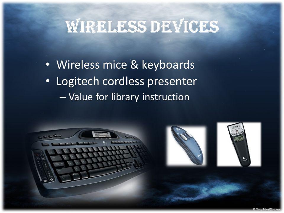 Wireless devices Wireless mice & keyboards Logitech cordless presenter