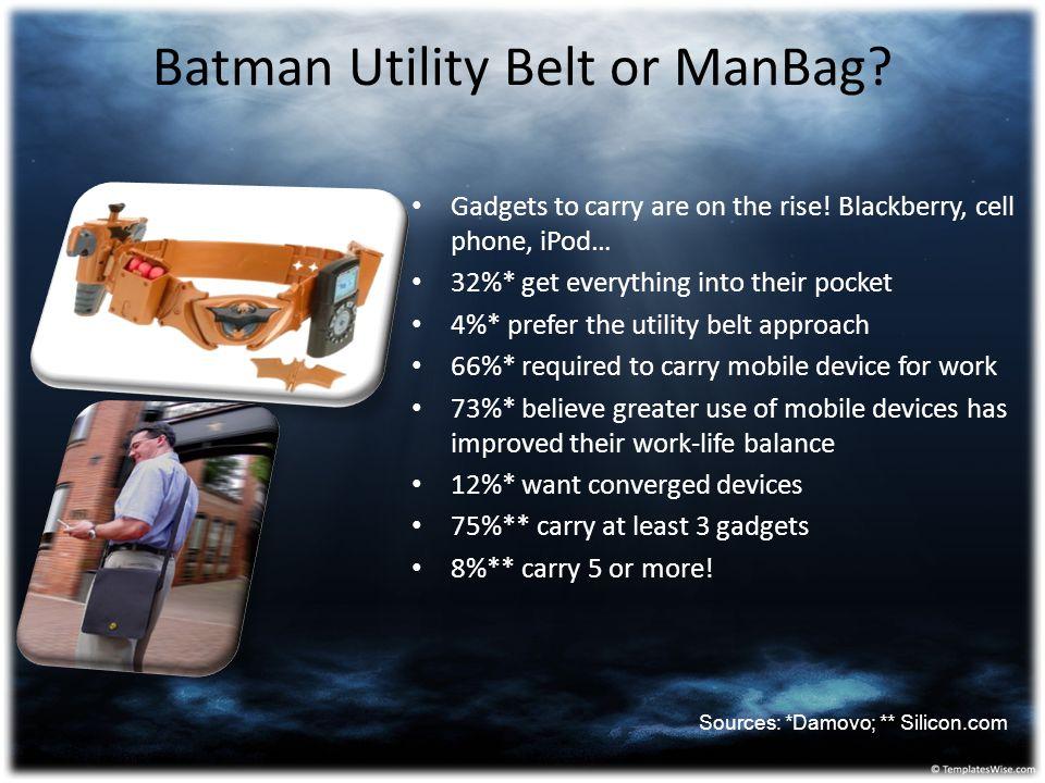 Batman Utility Belt or ManBag